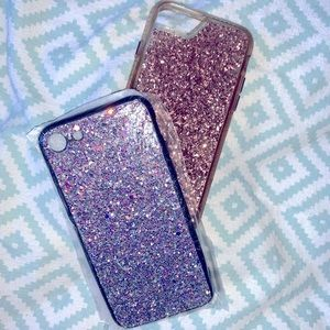"""""""3 FOR $15‼️ Glitter IPhone 8 cases"""